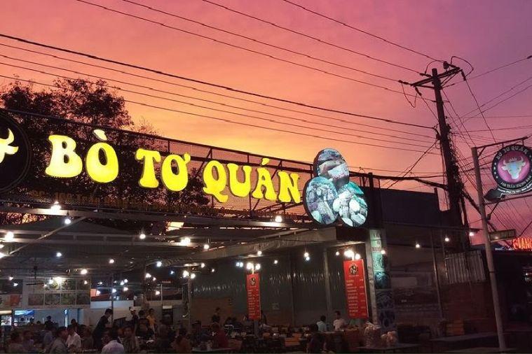 Bò tơ Quán - Phú Quốc